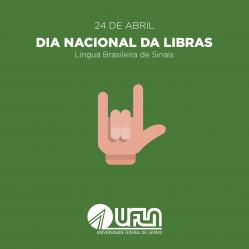 24 de Abril - Dia Nacional da Libras